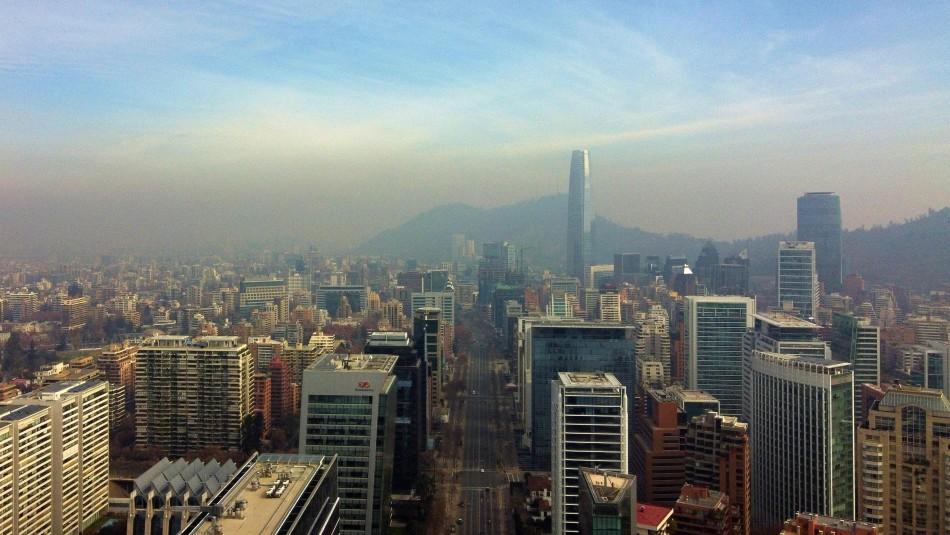 Decretan Preemergencia Ambiental para este lunes en la Región Metropolitana