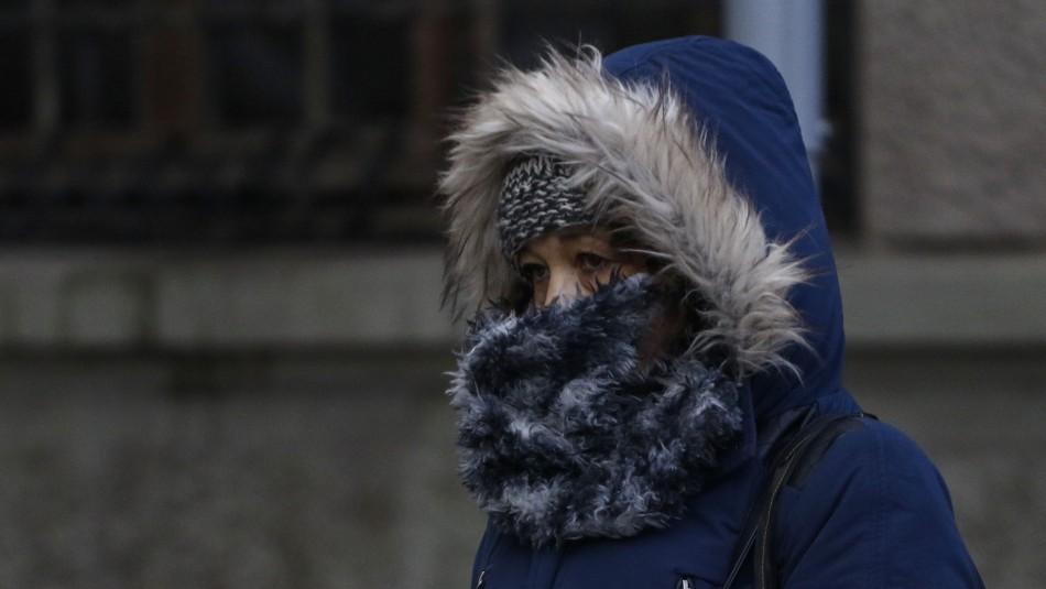 Comenzó el invierno: Bajas temperaturas se registran en la zona central del país