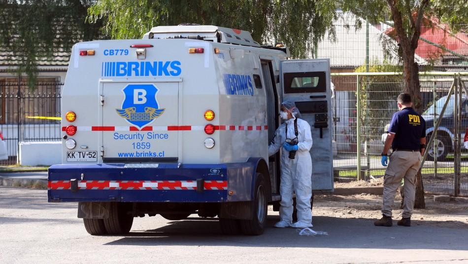 Cae líder de banda que robó más del 1.500 millones de pesos a camión de valores en La Granja