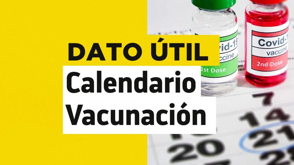 Calendario de vacunación Covid: ¿Quiénes reciben la dosis este jueves 24 de junio?