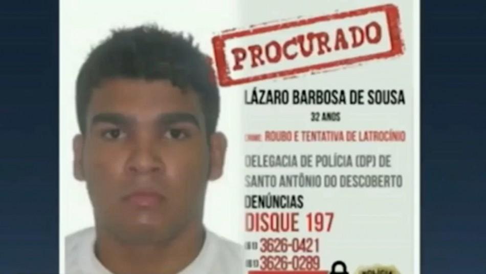 Peligroso asesino serial se encuentra prófugo en Brasil: Continúa cometiendo crímenes