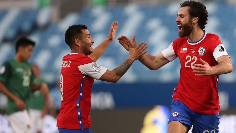 Chile se mide ante Paraguay en Copa América.