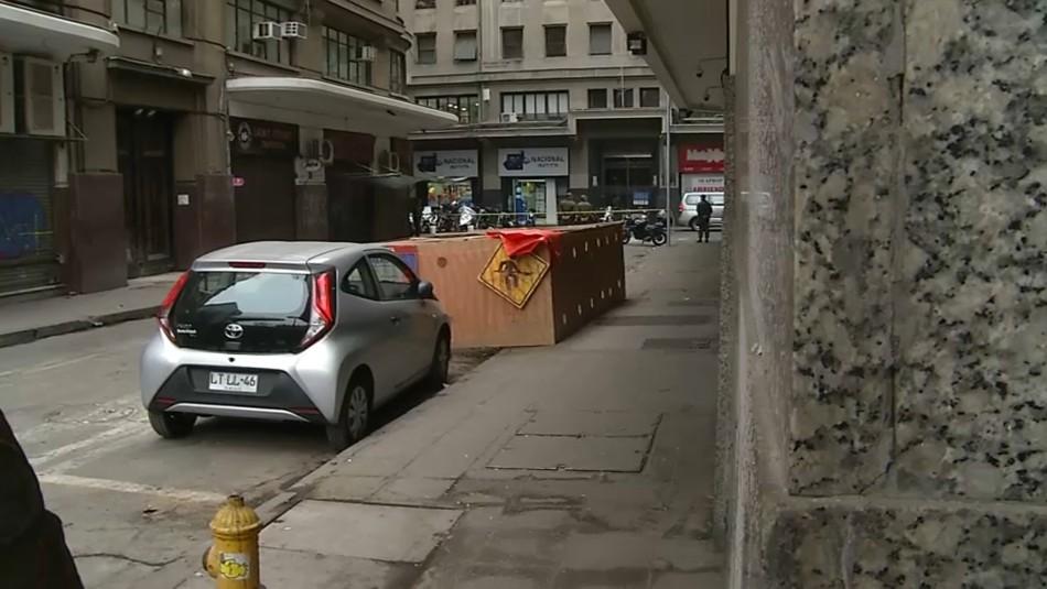 Encuentran cuerpo calcinado de un joven en el centro de Santiago
