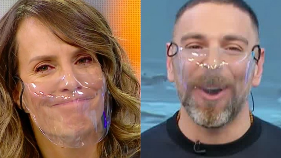 Diana Bolocco y José Antonio Neme
