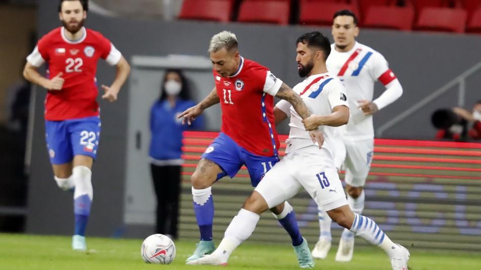 Chile pierde ante Paraguay y podría enfrentar a Brasil en cuartos de final