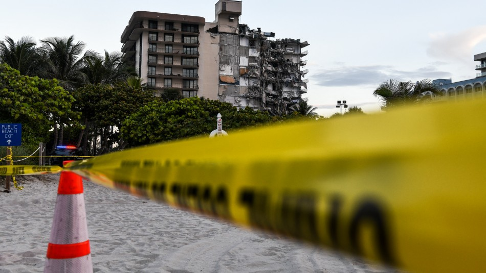 Derrumbe en Miami: Familia que viajó a vacunarse contra el coronavirus está desaparecida