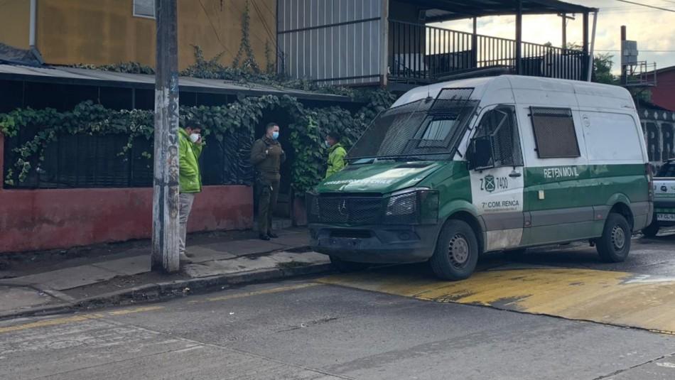 Femicidio frustrado en Renca: Mujer herida es atendida en Hospital Félix Bulnes
