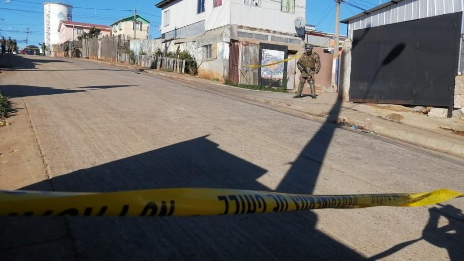 Carabinero fue baleado en Valparaíso: Delincuente luego llegó herido al mismo centro asistencial