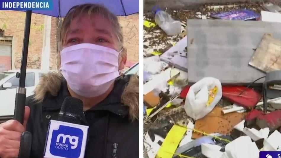 Farkas donará $1 millón a mujer cuyo kiosko fue demolido por la municipalidad de Independencia