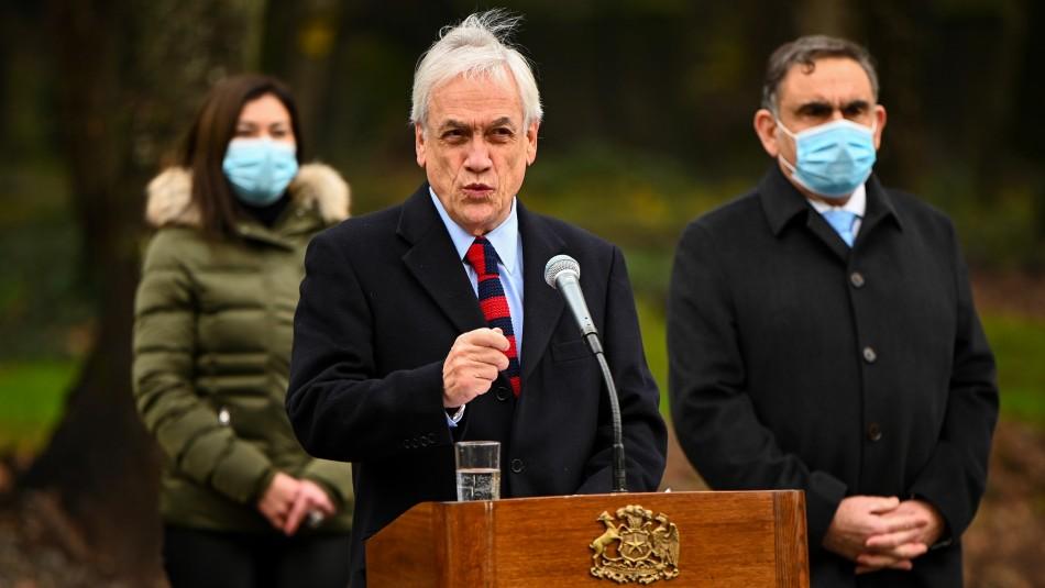 Presidente Piñera visita La Araucanía y anuncia: