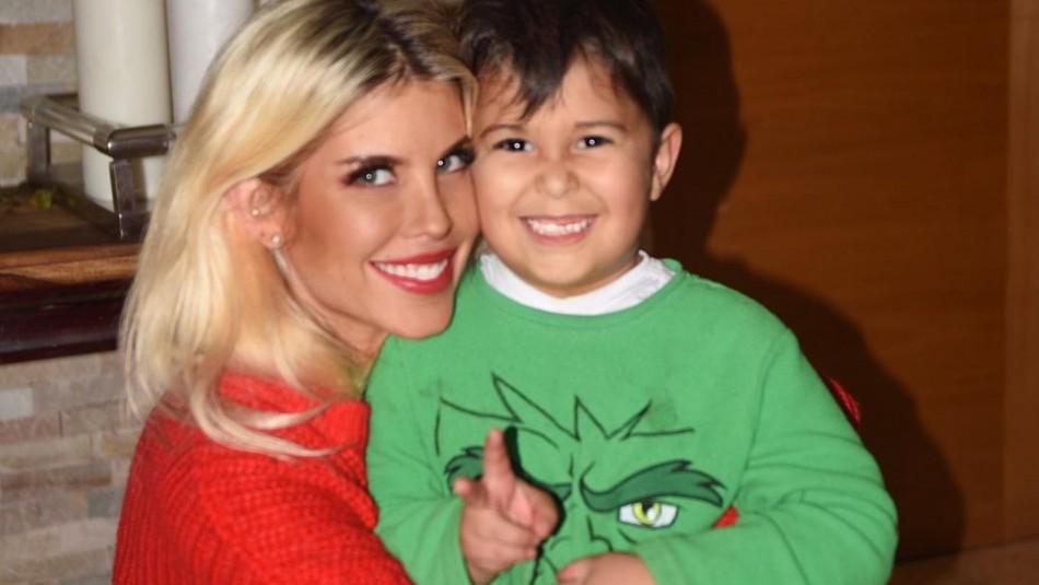 Hijo menor de Coté López sigue los pasos de su madre en la pasarela: