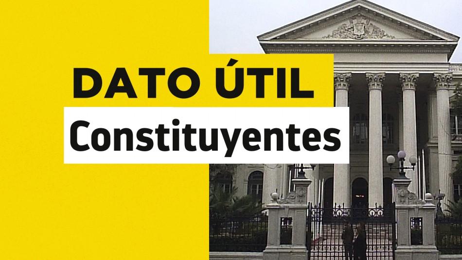 Nueva Constitución: Revisa quiénes son los constituyentes de La Lista del Pueblo