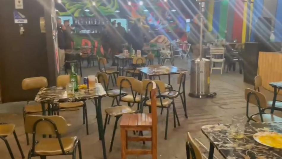 Cinco detenidos deja masiva tocata en Bellavista: Asistieron más de 80 personas