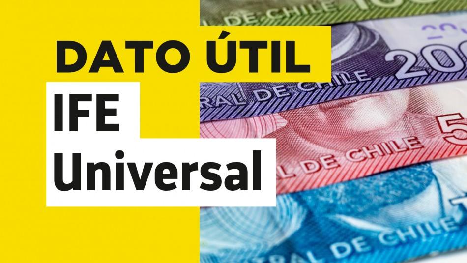 IFE Universal de junio: Conoce el monto que recibe tu familia