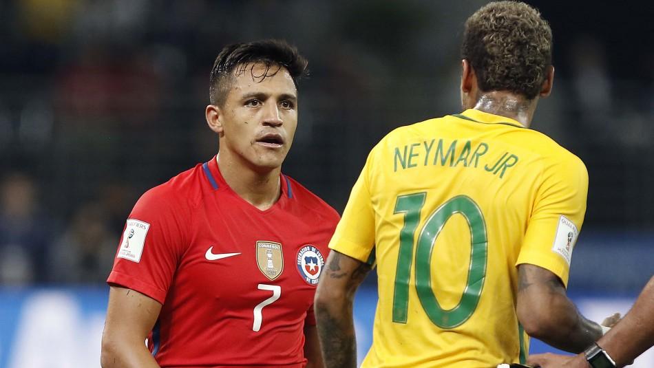 Chile vs Brasil hora horario fecha