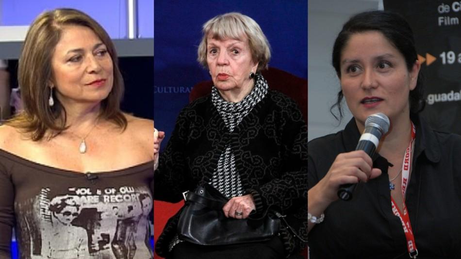 Esperanza Silva, Bélgica Castro y Catalina Saavedra