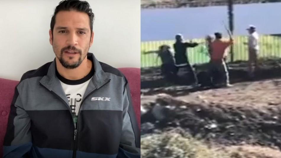 Mark González alza la voz tras sufrir agresión.