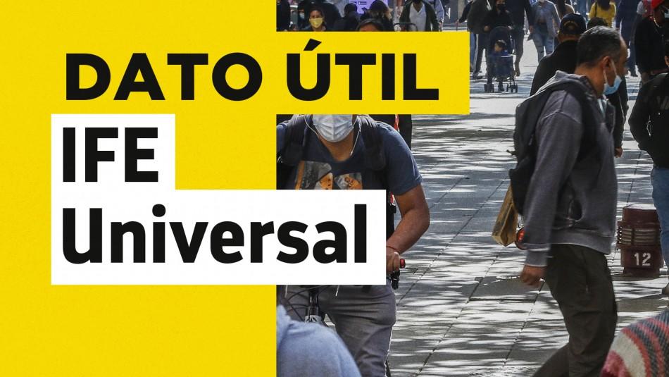 IFE Universal: ¿Quiénes pueden recibir este bono?