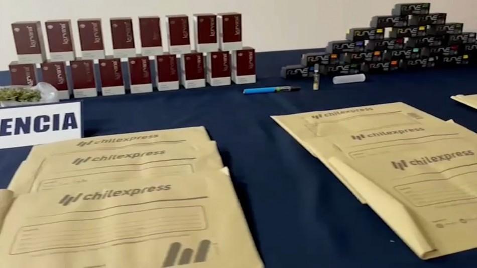 Hombre vendía droga en cartuchos de tinta de impresora