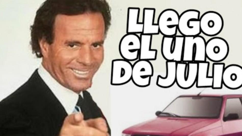 Meme de Julio Iglesias