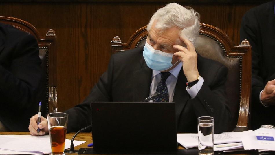 Cámara de Diputados aprueba interpelación contra el ministro Enrique Paris