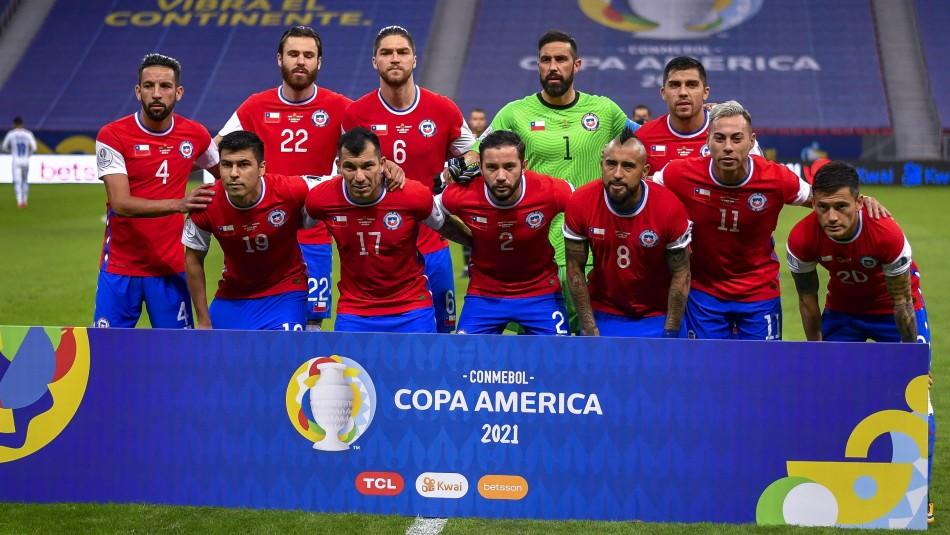 Esta sería la formación de Chile para enfrentar a Brasil por Copa América