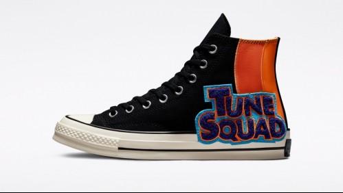 Prepara tu outfit para el estreno de Space Jam 2 con la nueva colección de Converse