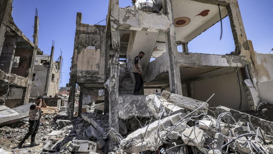 Ataques aéreos de Israel contra Gaza tras lanzamiento de globos incendiarios