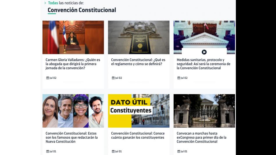 Convención Constitucional: Así puedes ver en vivo la ceremonia de instalación