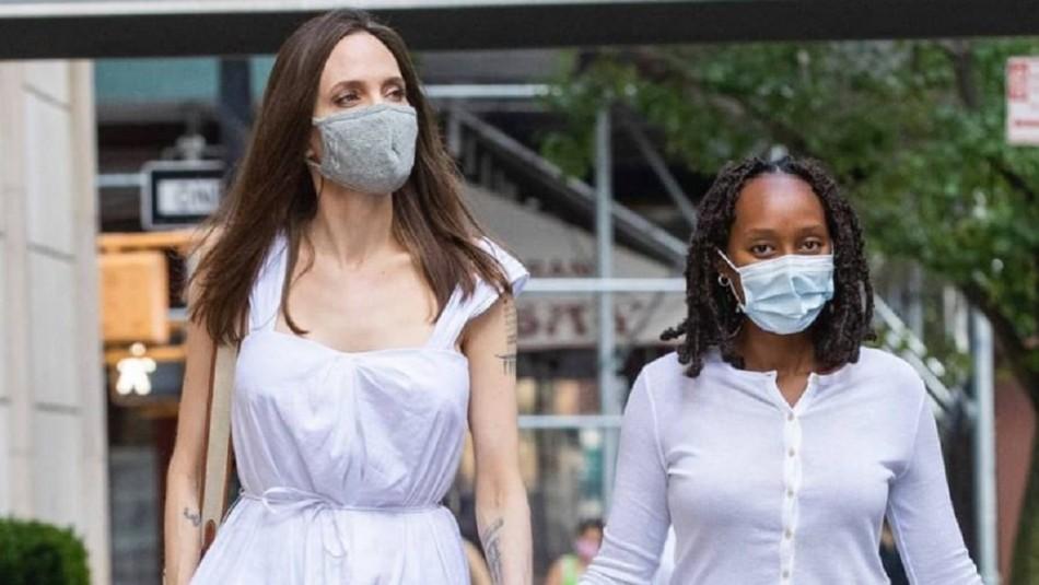Se lució con un vestido: Zahara también sabe cautivar como su madre Angelina Jolie