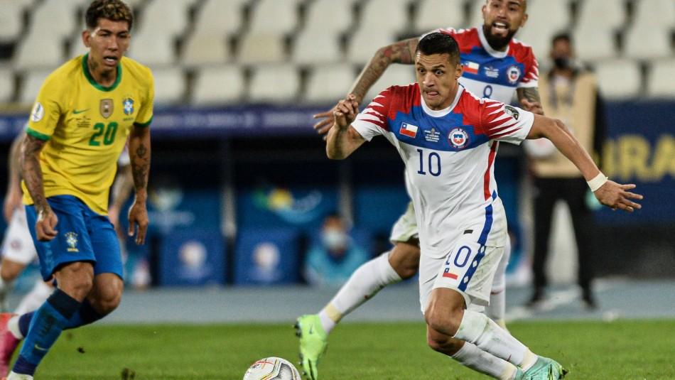 Cayó peleando: Chile se despide de Copa América tras perder ante Brasil por cuartos de final