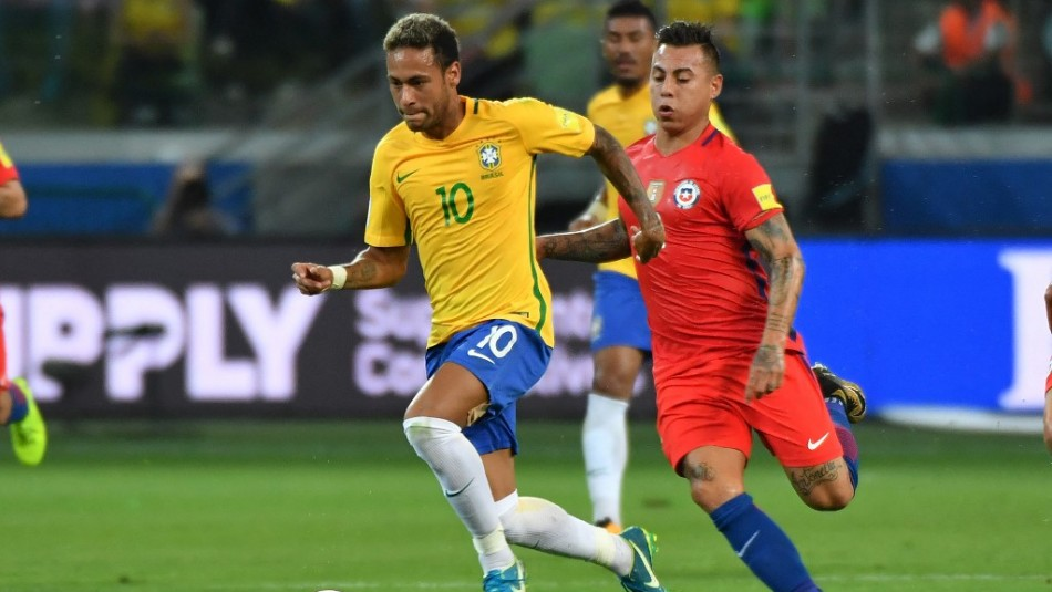 Chile vs brasil en vivo