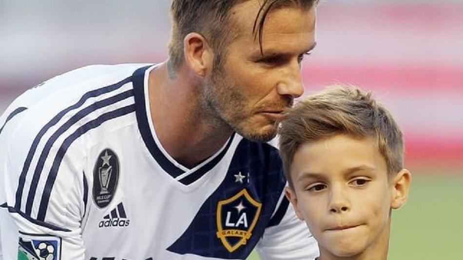 El hijo de David Beckham que es modelo, le gusta el fútbol y ya es más alto que su padre