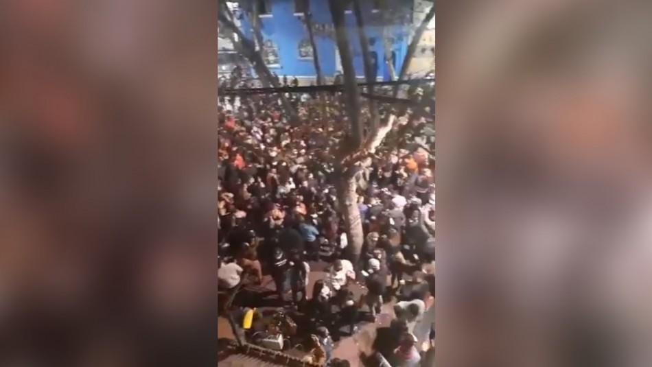 Usuarios de redes sociales denuncian masiva fiesta en el Barrio Bellavista