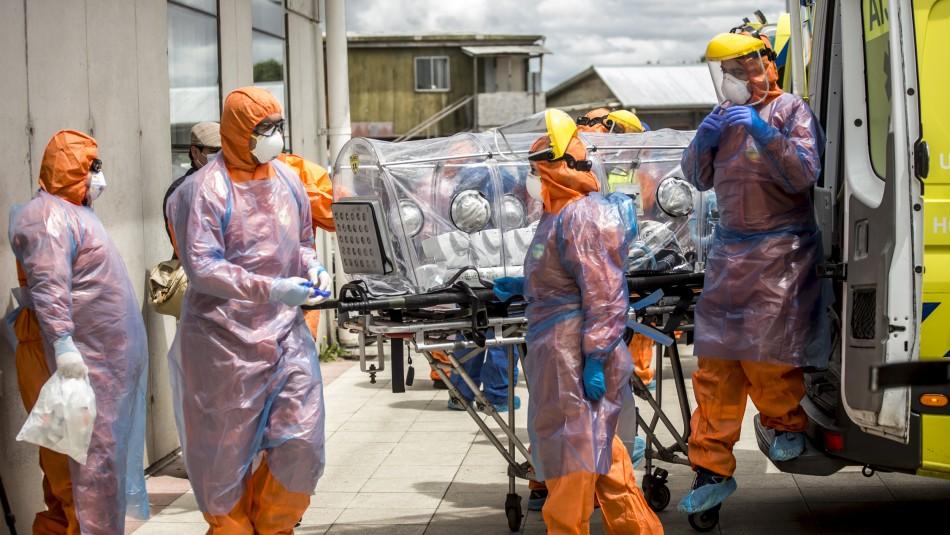 Balance Minsal por Covid: Más de 3.800 contagiados y 164 fallecidos en las últimas 24 horas