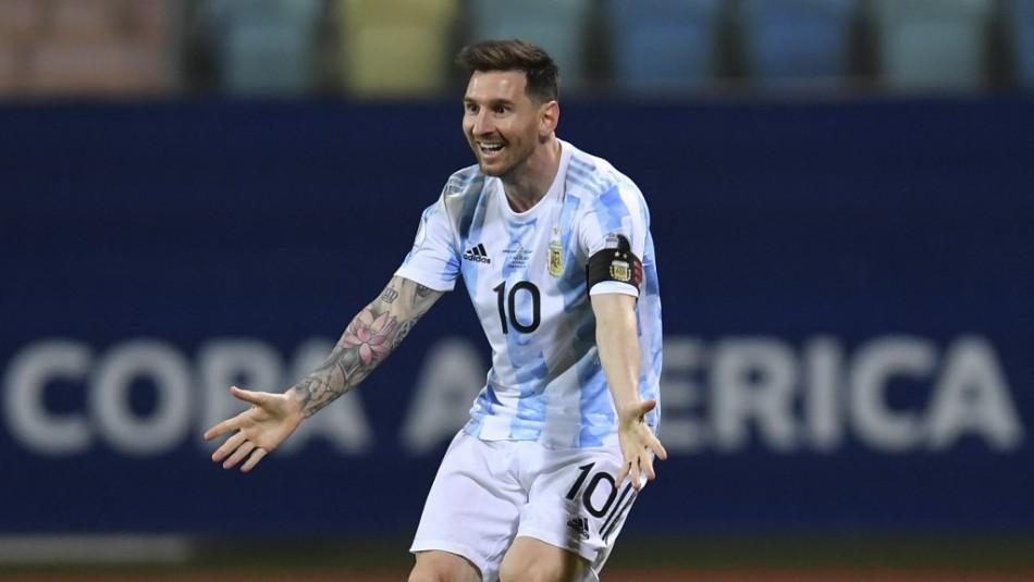 Messi guía a Argentina a semifinales y Colombia elimina a Uruguay en la Copa América 2021