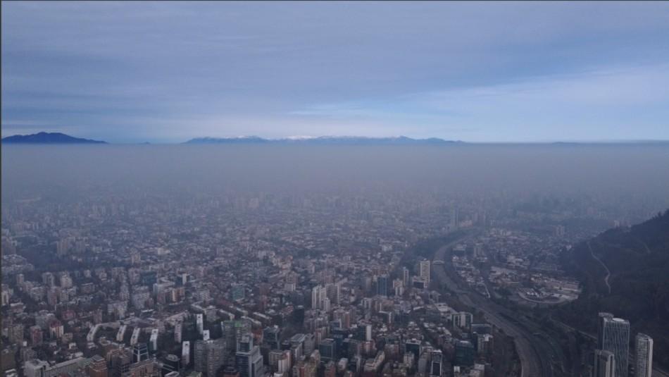 Decretan Preemergencia Ambiental para este domingo en Santiago: revisa las restricciones