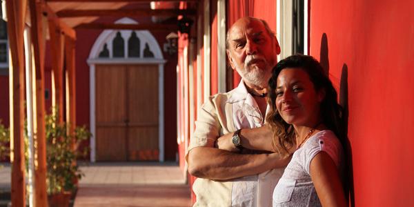 José Secall con su hija Adela