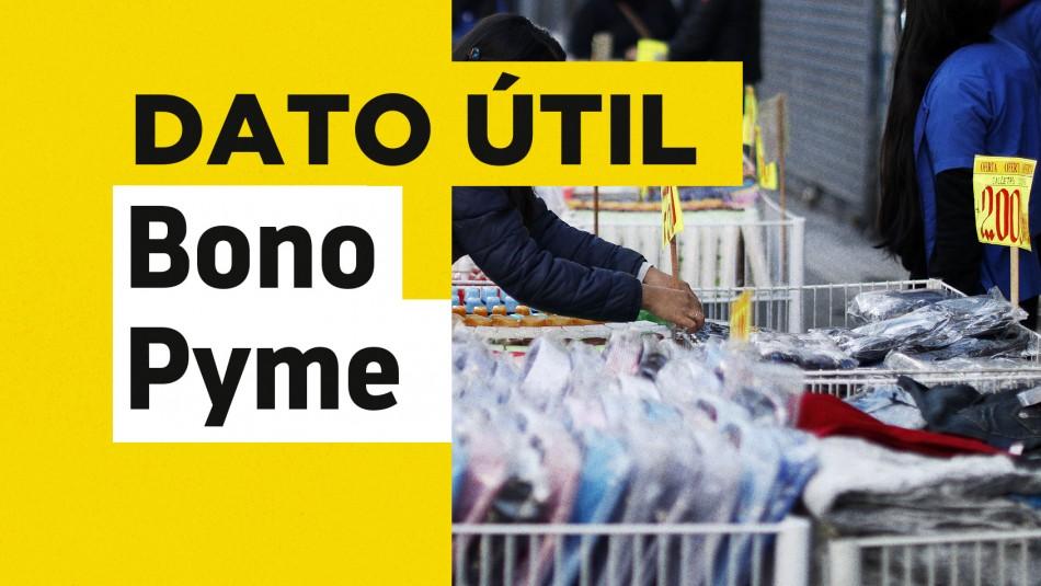 Bono Pymes: Revisa aquí quiénes pueden solicitar el Anticipo Solidario