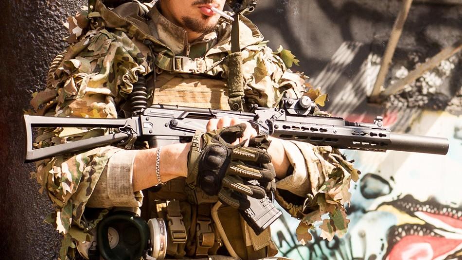 Con metralletas y autos blindados: Así posan los sicarios del Cartel Jalisco Nueva Generación