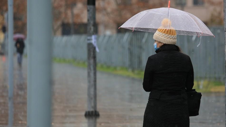 Lluvia en Santiago: Revisa cuánto podría llover este martes