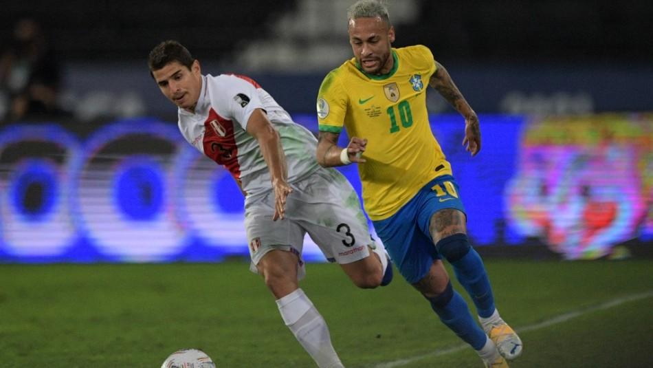 Otra vez con lo justo: Brasil supera a Perú y se instala en la final de la Copa América