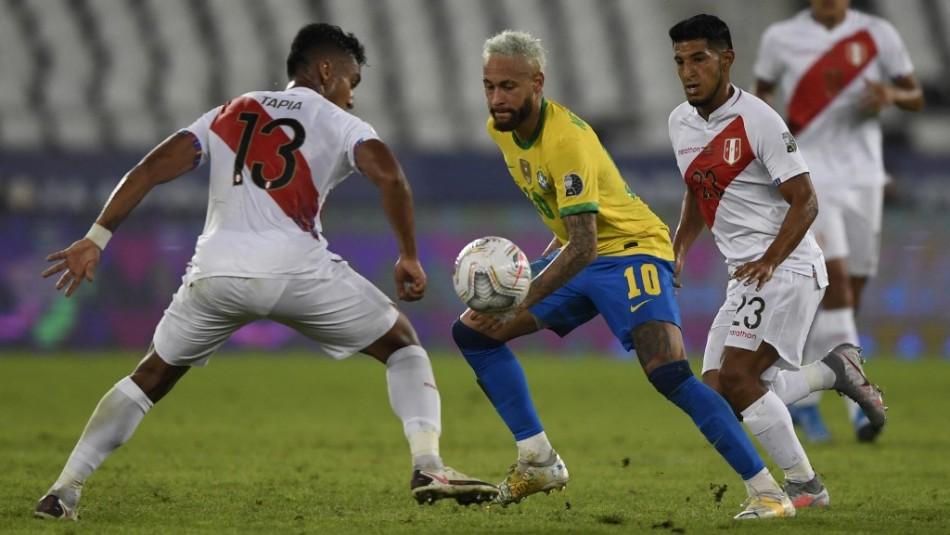 Brasil vs Perú en vivo