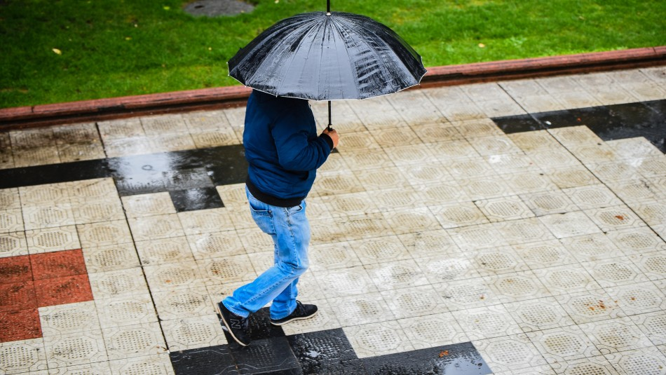 Pronostican lluvia en Santiago y un brusco descenso de la temperatura