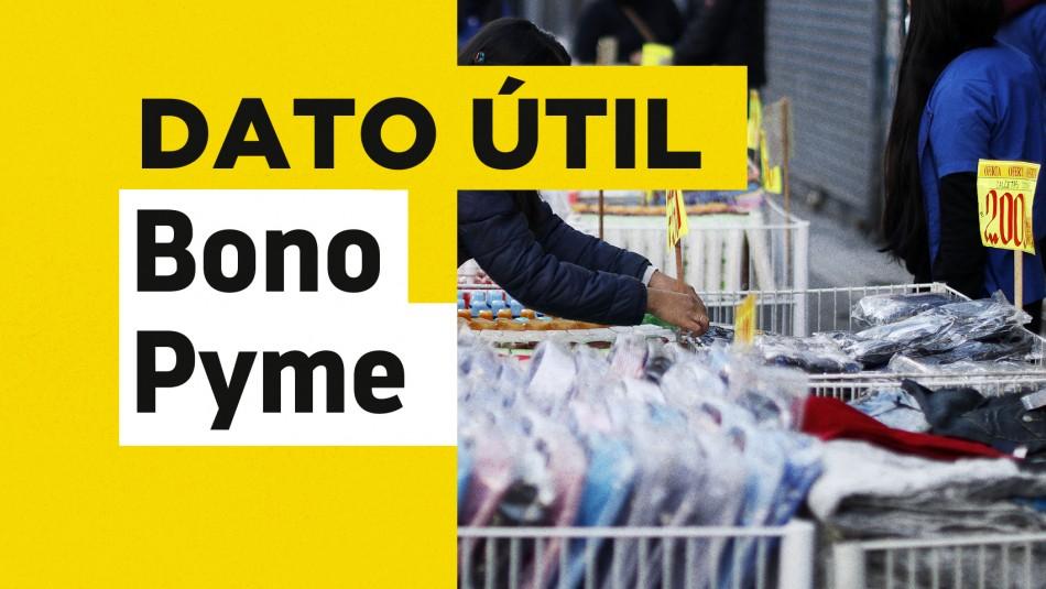 Bono Pymes y feriantes: Revisa cómo solicitar este beneficio de $1 millón