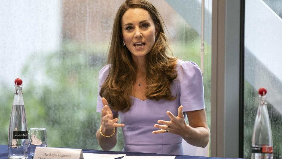 Kate Middleton está en cuarentena luego de ser contacto estrecho con contagiado de covid