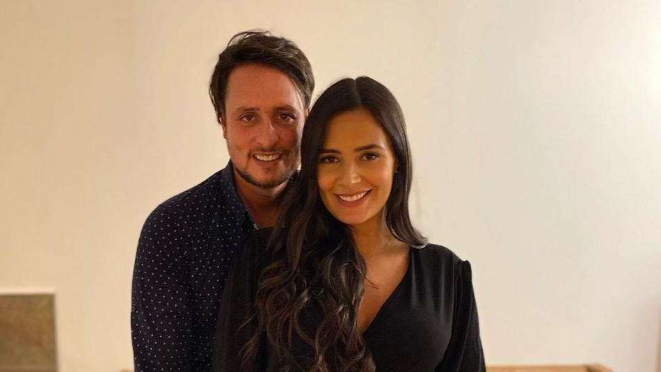 Dominique Gallego embarazada