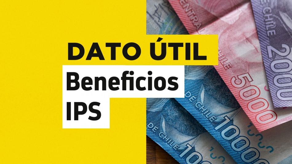 Solo con tu RUT: Revisa cuándo recibes el pago de tus beneficios del IPS