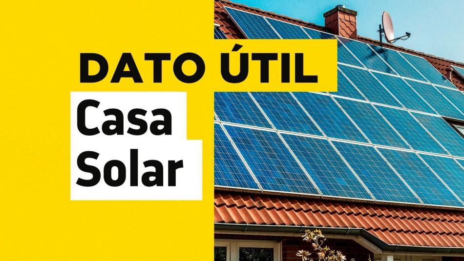 Casa Solar: Revisa el estado de tu postulación para instalar paneles fotovoltaicos en tu hogar