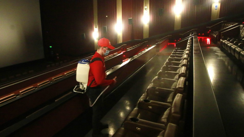Cines abiertos en Chile